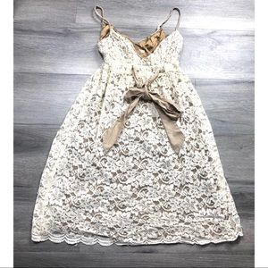 Diane Von Furstenberg dress crochet lace floral 2